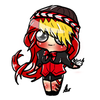 Simple Chibi by SilveronWolf