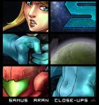 Samus Aran Close-ups by LiKovacs