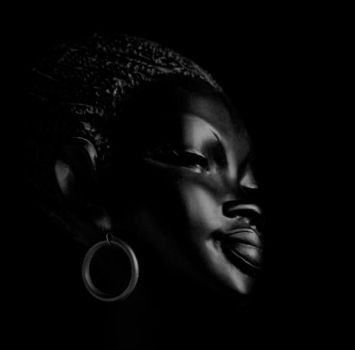 Black woman by KalleVictor
