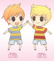 Claus+Lucas_MOTHER3_ by Wasil