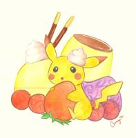 Pikachu Cravings! by sweetsourcherry