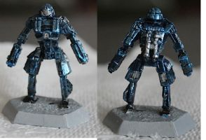 Battletech Dervish Paintjob by KittyHMommy