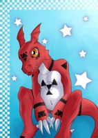 Guilmon-mon by ImpDynasty