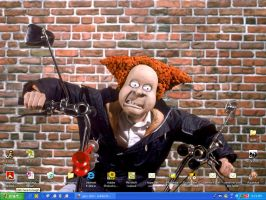Angry Kid desktop by Soloboy5