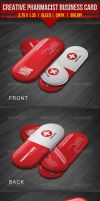 Creative Pharmacist Business Card by EgYpToS