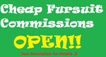 Cheap Fursuit Commissions: NOW OPEN! by smcosplay98