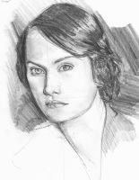 Michelle Dockery sketch by Vimes-DA
