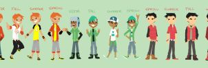 boy fashion (updated) by ActionKiddy