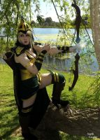Sherwood Forest Ashe - Lol Cosplay by AnneTSeptik