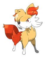 Fennekin evolution by Pokemon-Diamond