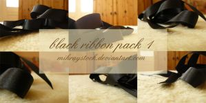black ribbon pack 1 by Mihraystock