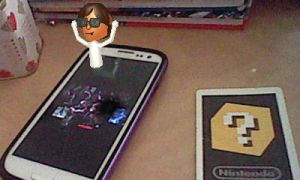 Mii Ladykiller and the pic of Ladykiller by Paula432