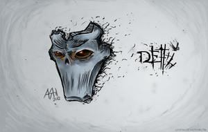 DSII DEATH MASK by AShinati