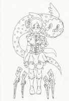 Commish: WIP -Mami Tomoe- by Swamnanthas