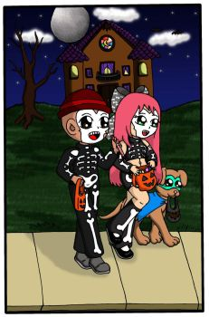 Trick or Treat! by sandapolla