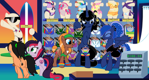 Summer Shopping by EvilFrenzy