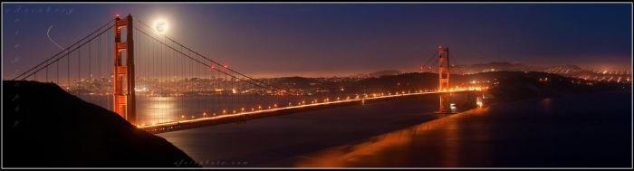 Full Moon San Fran by aFeinPhoto-com