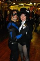 Zatanna and Nightwing Dance by Syagria