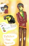 T.B's OC Contest~ Tristan The Toucan by DiabolicBlueCherry