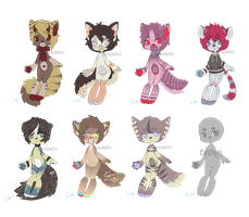   Adoptables 004   Open *REDUCED by iEatMudkipz