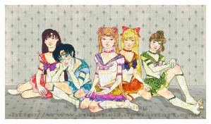 Wallpaper Senshi by RohanElf