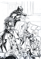 Commission Batman, Joker and The Mask by viniciusdesouza