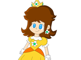 Princess Daisy by TamaTendo