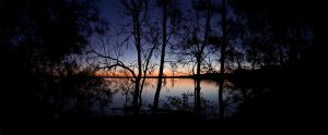 Sunset at Lake Munmorah 2 by ximo