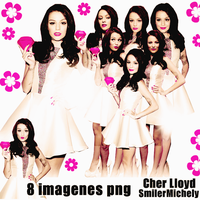 Cher Lloyd Pack png by SMILERMICHELY