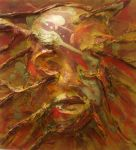 Golden Mask Painting by PotTori