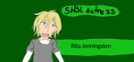 Rita Jenningsten, Super High School Level Actress by Funkycat206
