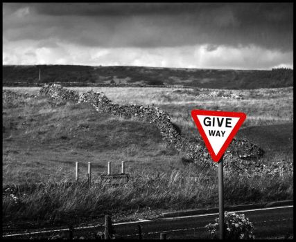 Give Way by Guy-with-the-guitar