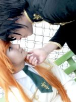 Shirley and Lelouch Code Geass Cosplay by vxyustiz