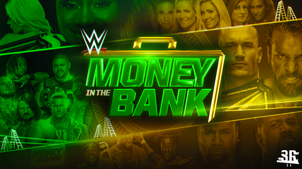 WWE Money in the Bank 2017 by WWESlashrocker54