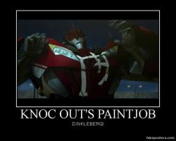 Transformers Prime Knock Out's Paint Job by Onikage108
