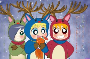 RRBZ Merry Christmas by BiPinkBunny