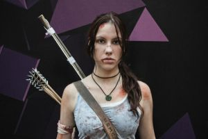 Lara Croft cosplay - WeGame 4 by TanyaCroft