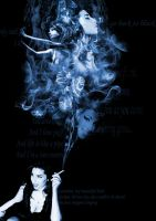 Amy Winehouse smoke by IzZy8