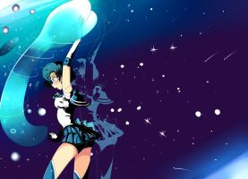sailor mercury by Invader-celes