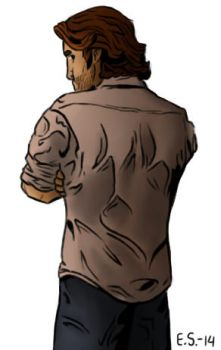 The Wolf Among Us | Bigby doodle by SecondSaria