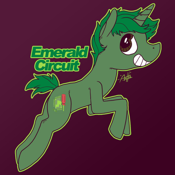 Emerald Circuit by SirScribble1