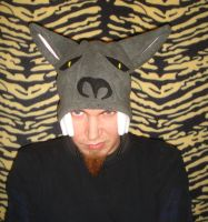 Warewolf Hat Fleece Sci Fi by HatcoreHats