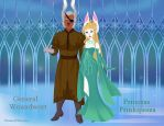 WSD General Woundwort and Princess Prinkipessa by Astrogirl500
