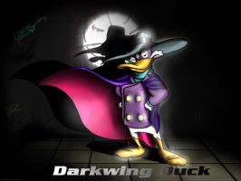 Darkwing Duck by LordDoomhammer