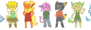 Eeveelution by ALLIS0N