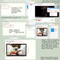 How To Embed Videos From Youtube! Step by Step by Zander-The-Artist