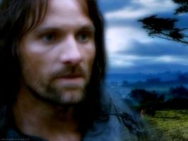Aragorn as 'Strider' in FOTR by Estella-Brandybuck