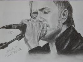 Dan Reynolds-Imagine Dragons by supnatfan