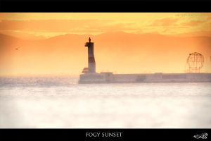 fogy sunset by archonGX