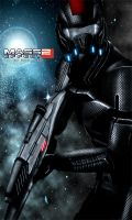 Mass Effect 2 Shepard (2010) by RedLineR91